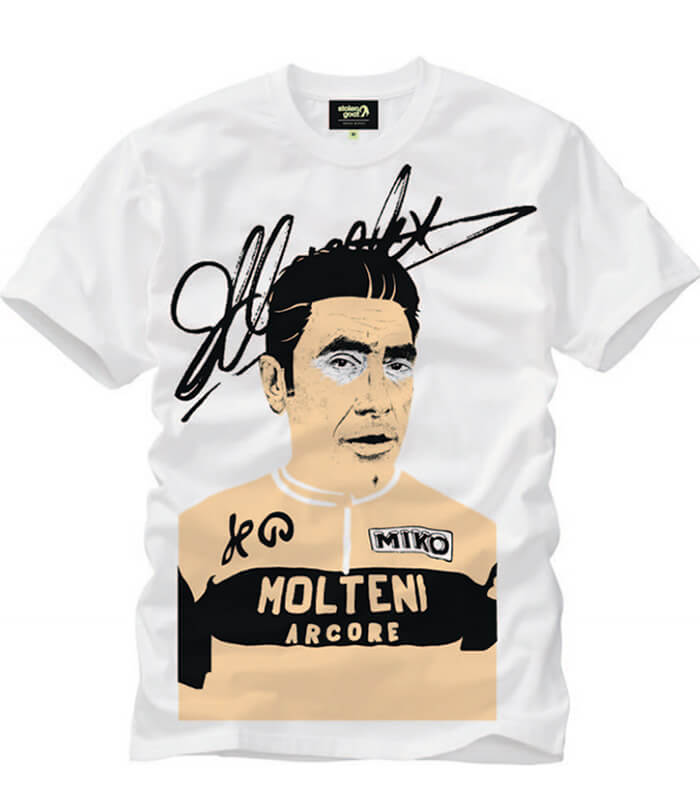 Eddy Merckx Cycling T-shirt - Heroes Special Edition stolen goat