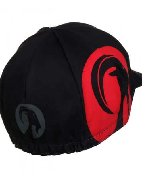 cycling cap slipstream red side