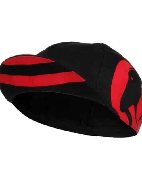 cycling cap slipstream red bill