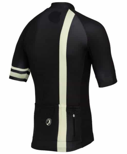 stolen goat Pro Black short sleeve cycling jersey back