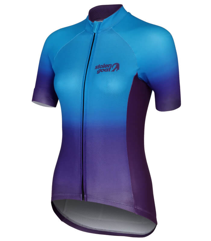 stolen goat momentum womens short sleeve cycling jersey