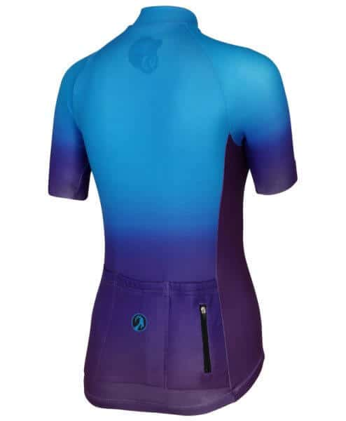 stolen goat momentum womens short sleeve cycling jersey back