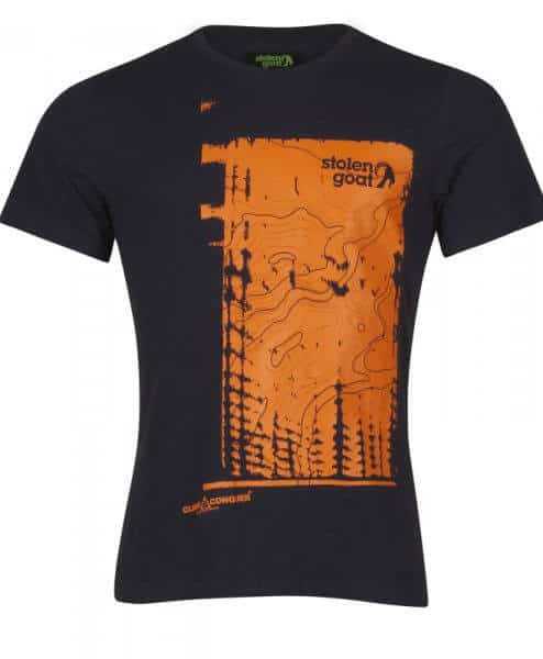 stolen goat topography cycling tshirt front