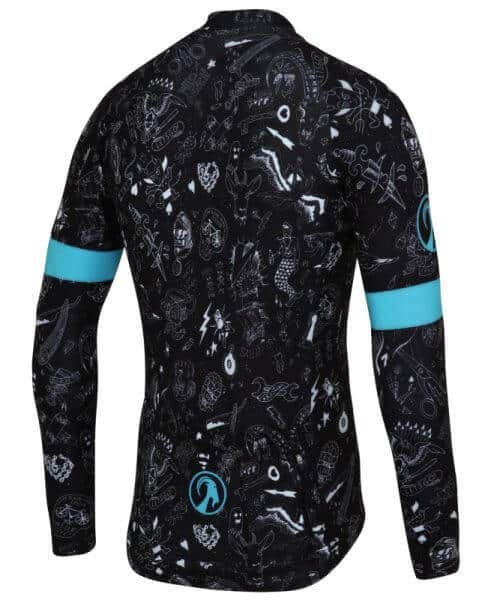 stolen goat the pledge limited edition ls bodyline jersey mens cycling back