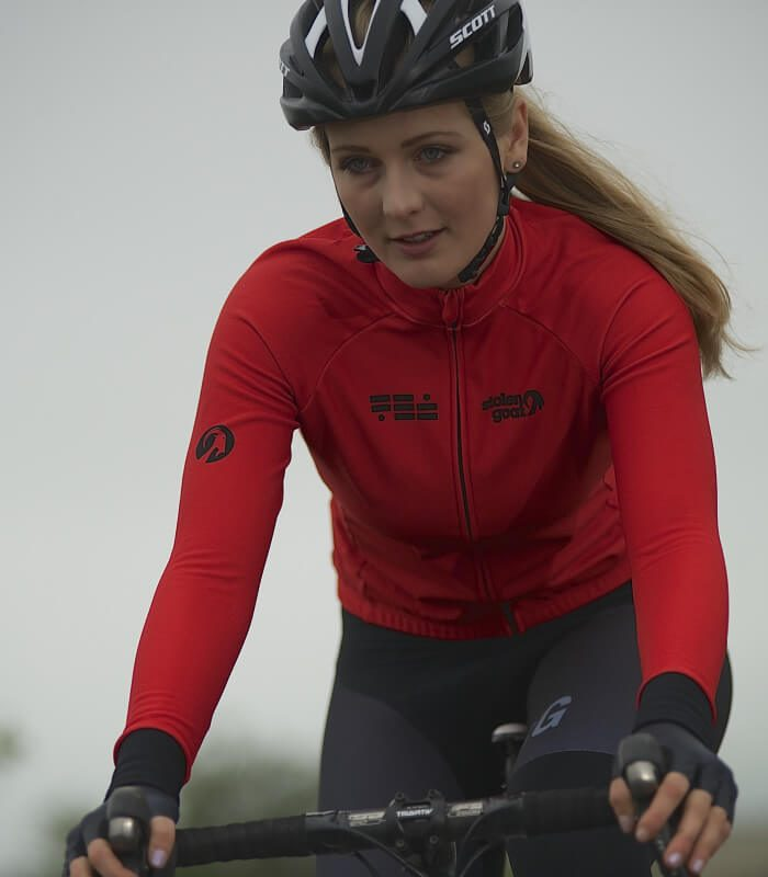 Buy Stolen Goat Orkaan Everyday LS Jersey Womens - Red