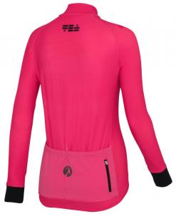 orkaan everyday jersey ls pink back ladies
