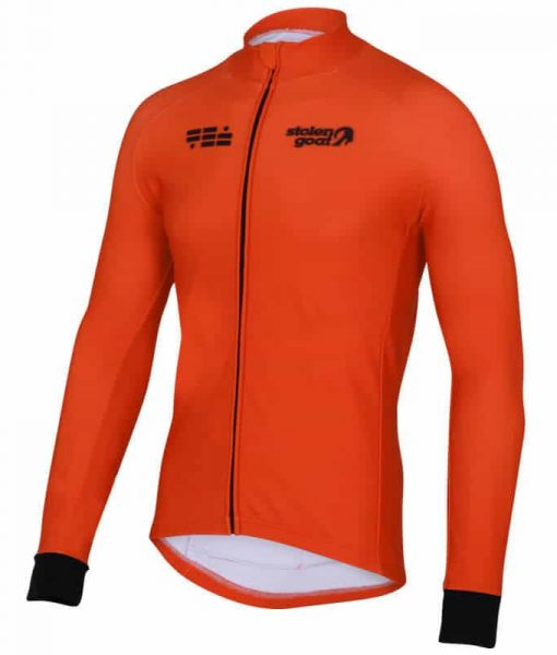 orkaan everyday jersey ls orange front