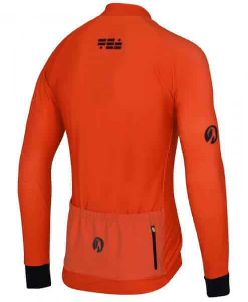 orkaan everyday jersey ls orange back