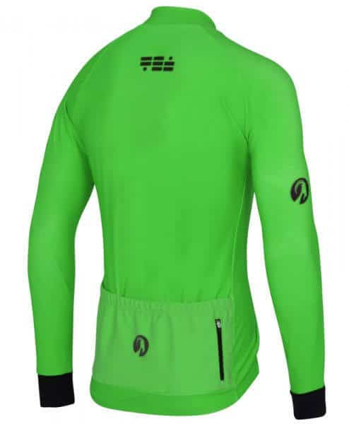 orkaan everyday jersey ls green back