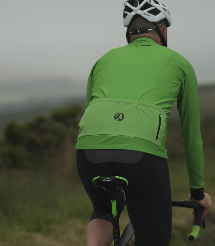 orkaan everyday jersey ls green amer back