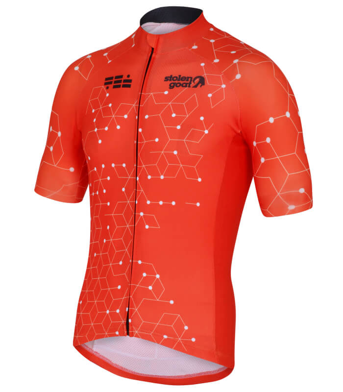 Buy Stolen Goat Bodyline Ss Cycling Jersey - Men s Intergalactic Orange d1fad5b7b