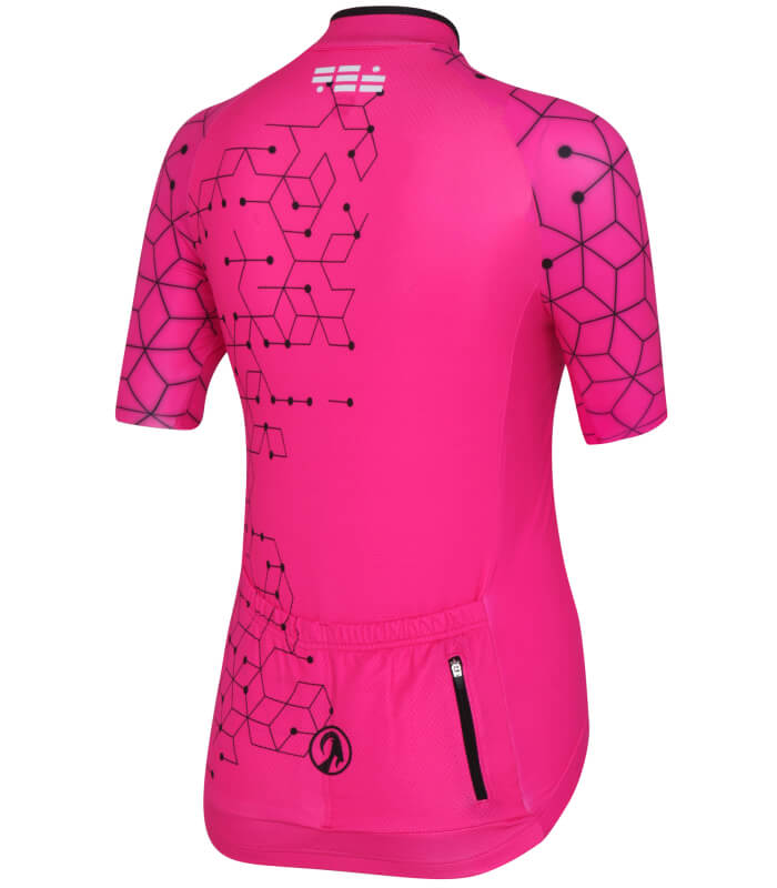 Buy Stolen Goat Bodyline Ss Cycling Jersey - Womens - Intergalactic Pink 2484f1541