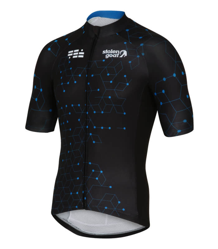 73060cfbf Buy Stolen Goat Bodyline Ss Cycling Jersey - Men s Intergalactic Blue