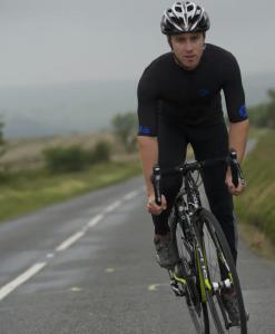 orkaan race tech waterproof cycling jerseys mens blue black