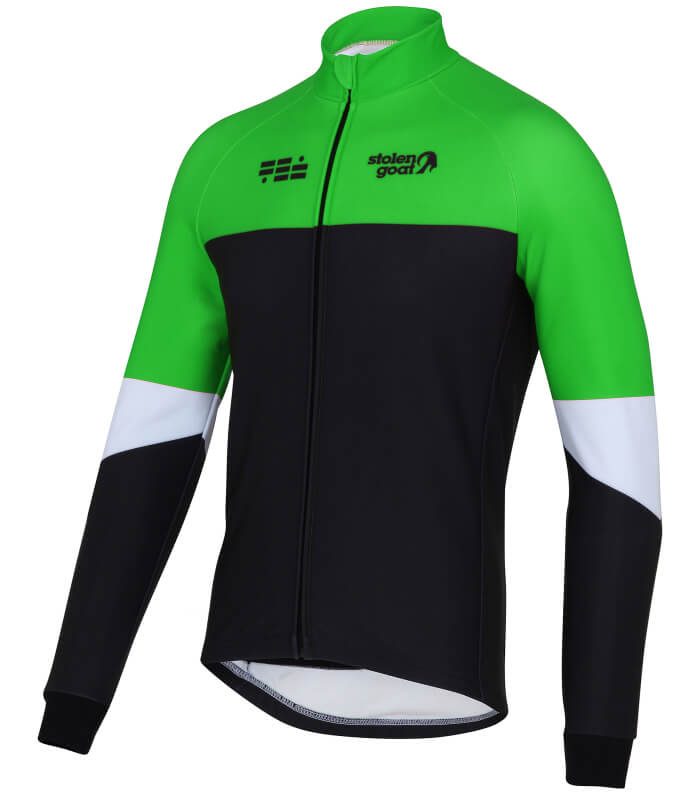 895cb74b3 Buy Stolen Goat Climb And Conquer Winter Cycling Jacket - Men s Lime ...