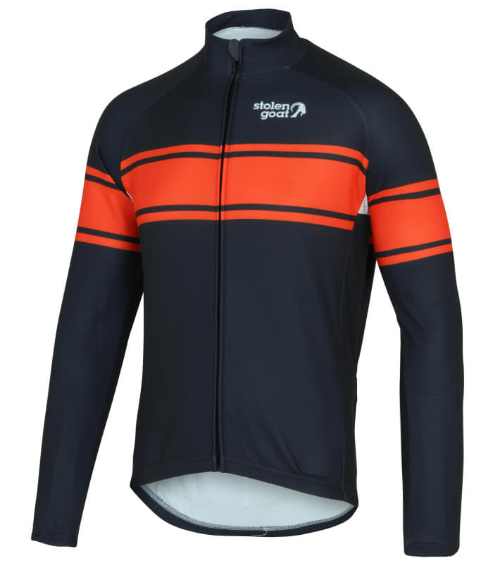 Buy Men S Thermal Long Sleeve Cycling Jersey Grimpeur