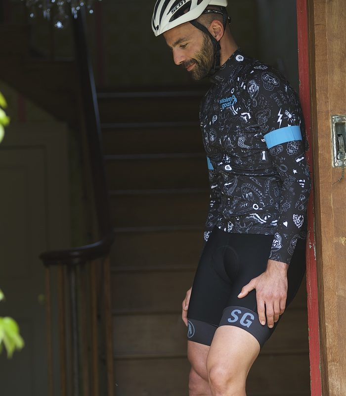 bodyline long sleeve cycling jersey