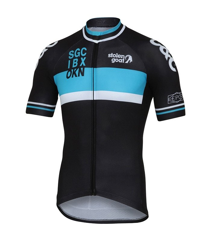 Buy Stolen Goat Men s Limited Edition - Retro Racer Blue Cycling Jersey 731e3ed4f