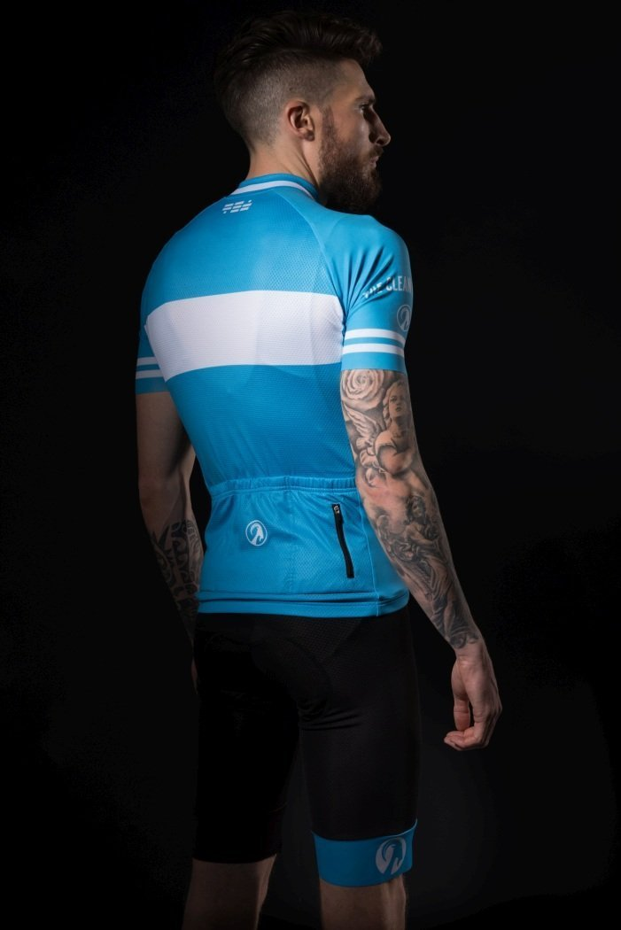 ... echappee blue by stolen goat. Cycling Clothing   Cycling Jerseys    Short Sleeve Cycling Jerseys bbbd951d7