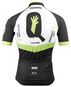 team dimension data jersey kit cycling - back