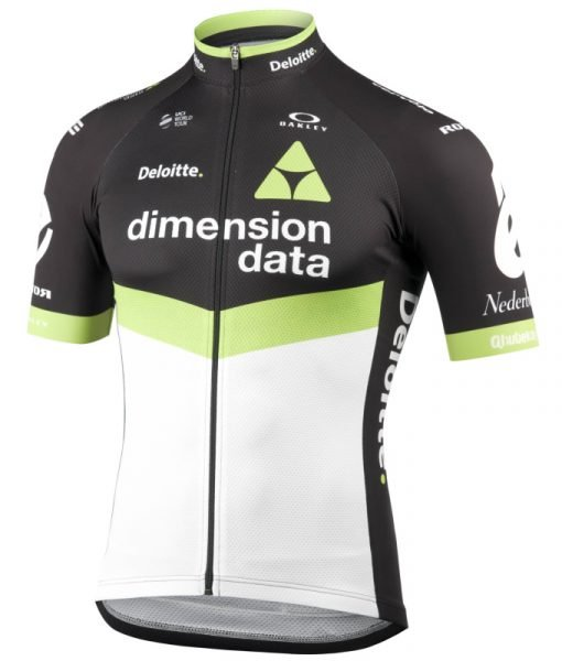 team dimension data jersey kit cycling – front