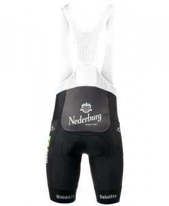 team dimension data cycling kit bibshorts back