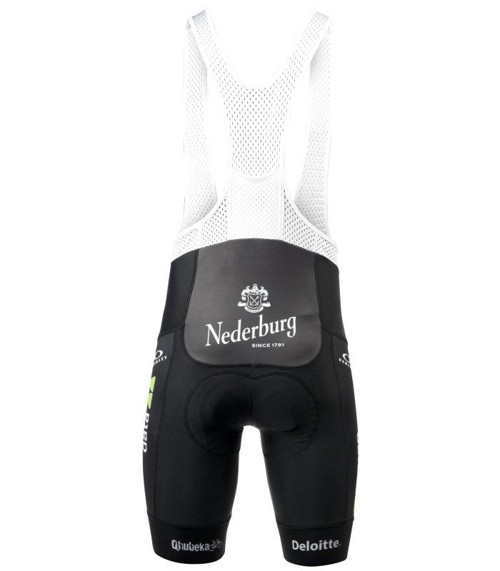 team dimension data cycling kit bibshorts back