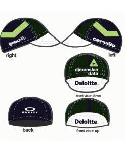 oakley team dimension data cycling cap