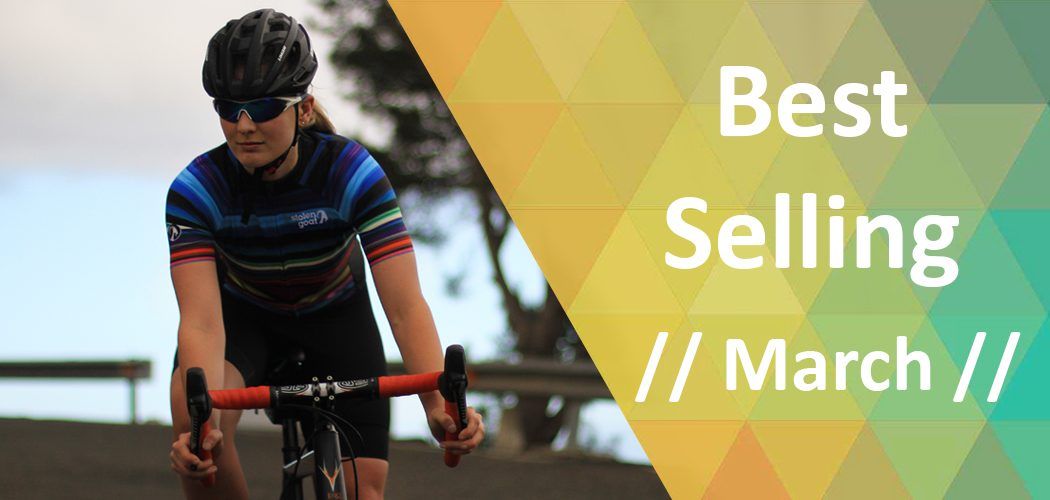 bestselling cycle clothing March 2017