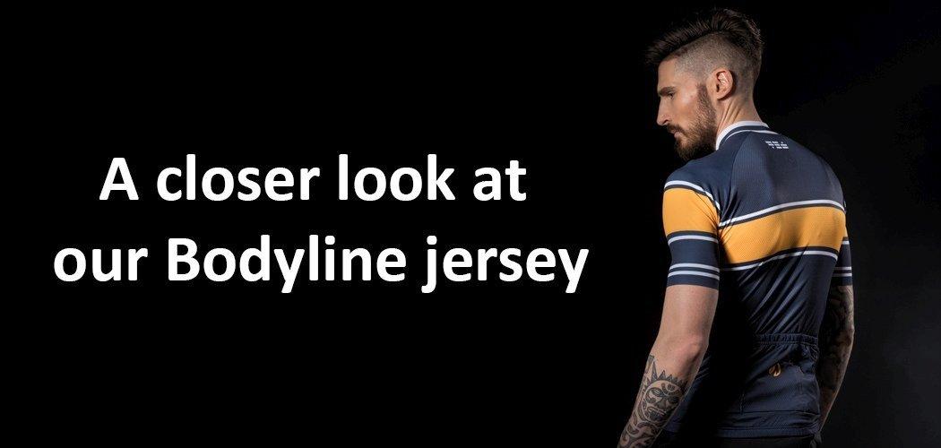 stolen goat Bodyline jersey features