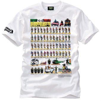 giro d italia cycling t-shirt 100 years