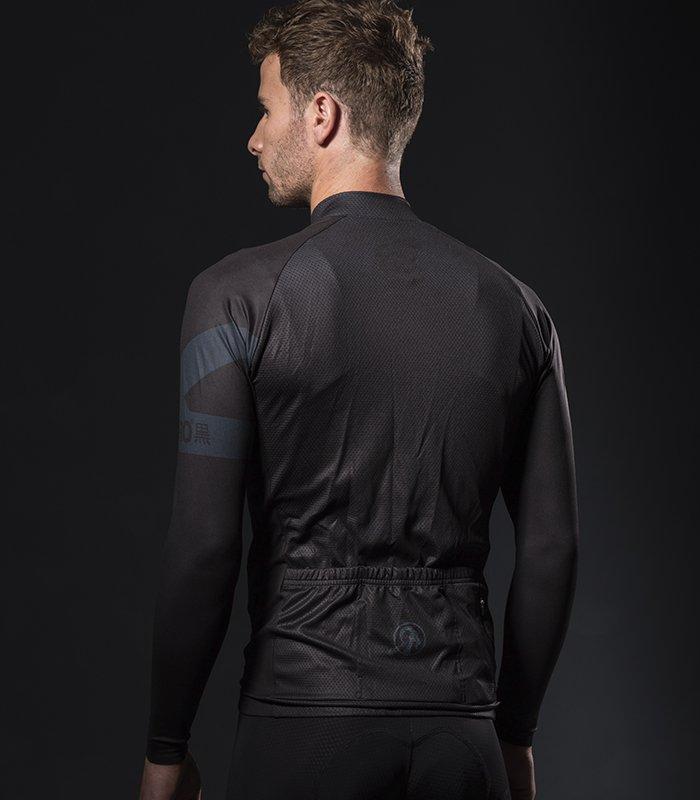 Buy Stolen Goat Bodyline LS Cycling Jersey - Men s Kuro Black e6a6309d6