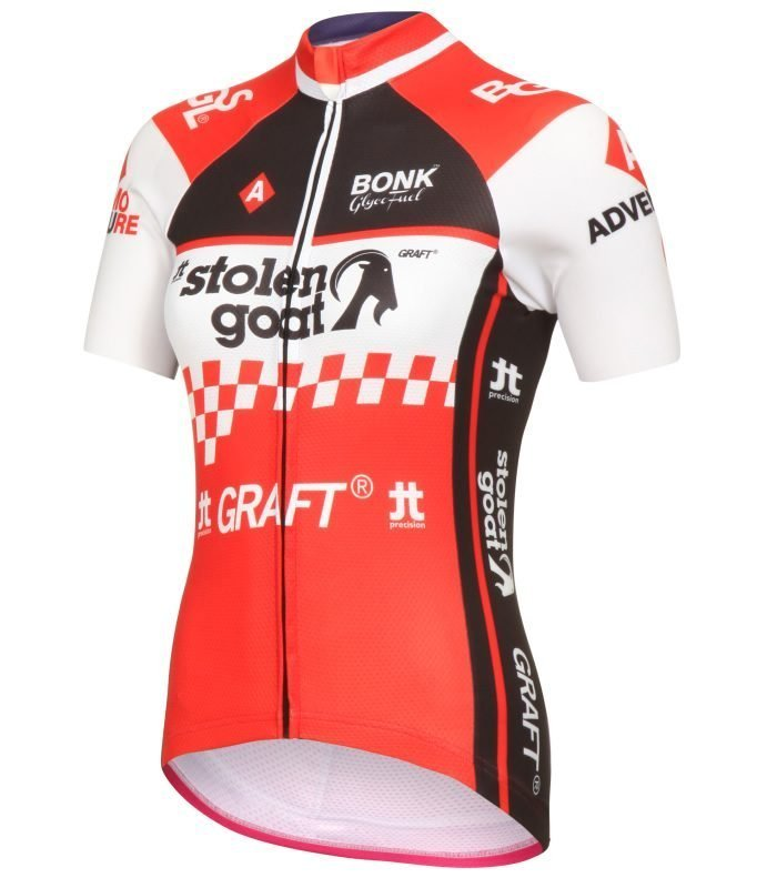 9877cfa56ba Buy Stolen Goat Women s - Race Team Red Bodyline Cycling Jersey
