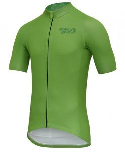 eed8325e Stolen Goat Men's Core - Green Cycling Jersey