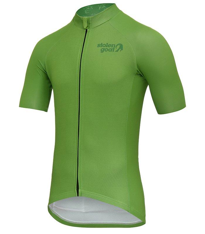 Buy Stolen Goat Men s Core - Green Cycling Jersey 624ba8b4f