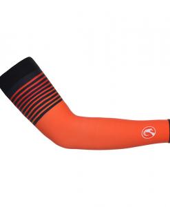 20c29e65e Stolen Goat Orkaan Waterproof Arm Warmers – Orange Haze – Unisex