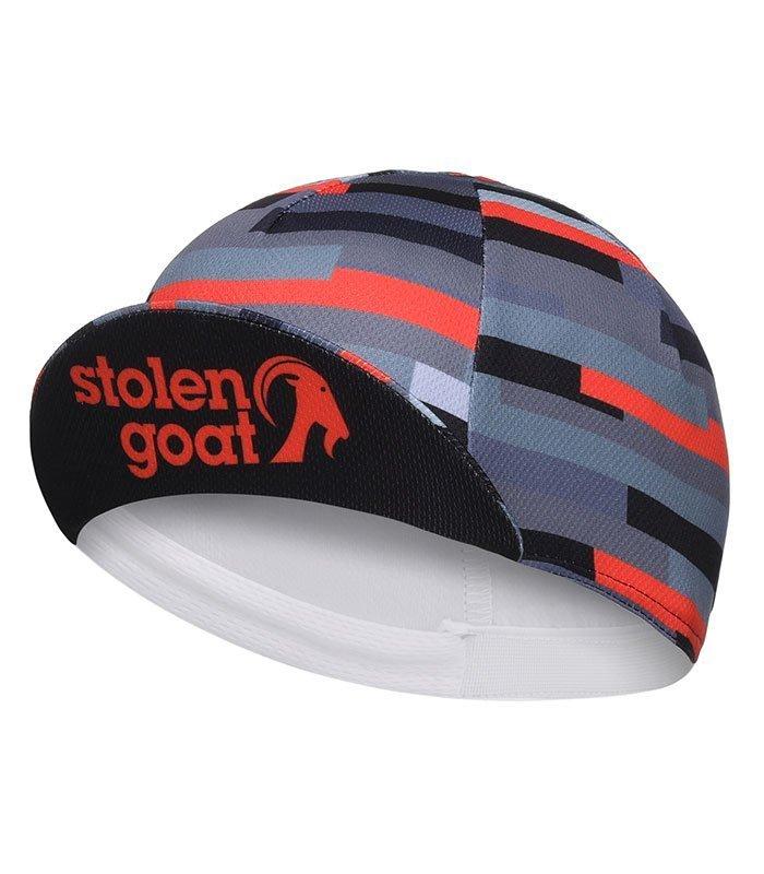 50a86abab8e302 Buy Stolen Goat Unisex - Jenga CoolMax Cycling Cap