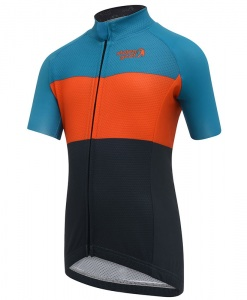 stolen goat industry brights kids cycling jersey