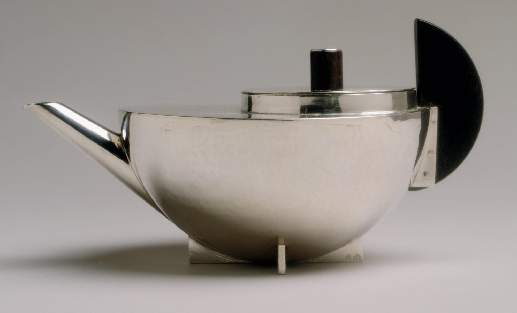 Marianne Brandt's Bauhaus teapot