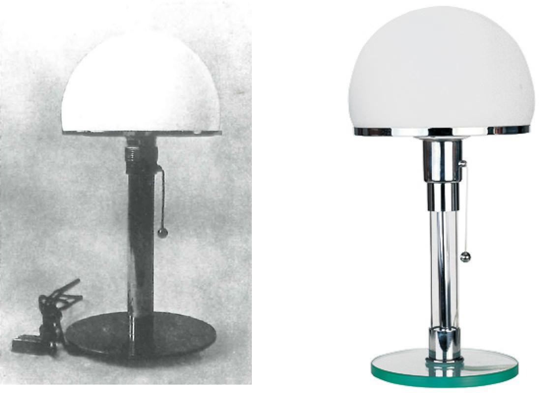 Wilhelm Wagenfeld's Bauhaus lamp