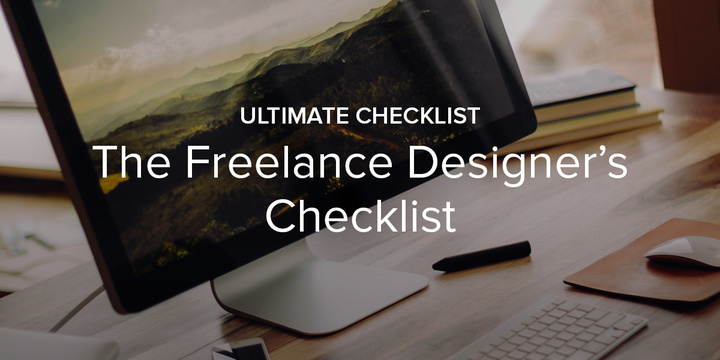 Download The Designlab Freelance Designer's Checklist