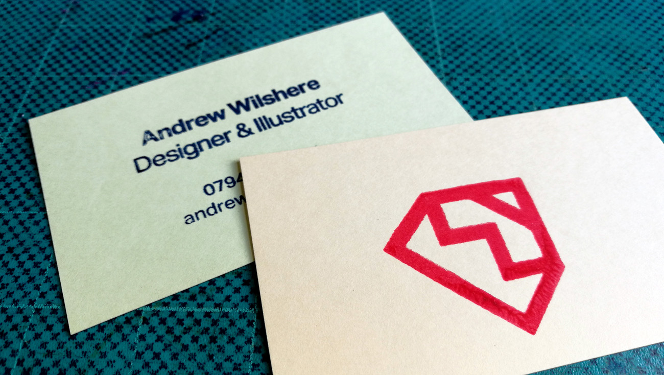Gocco business cards