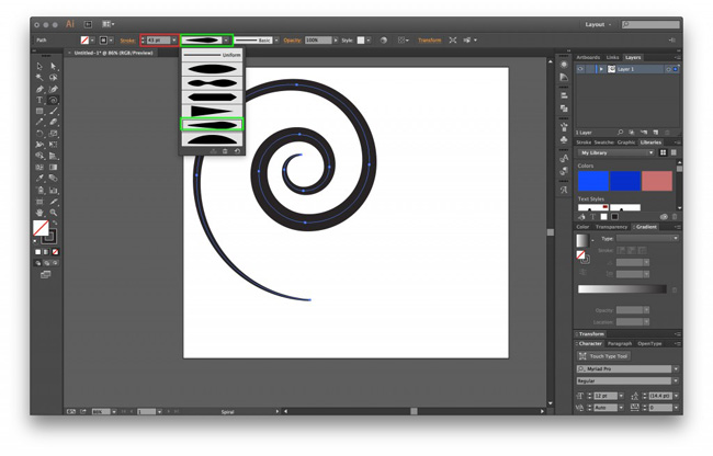 Adobe Illustrator CC screenshot