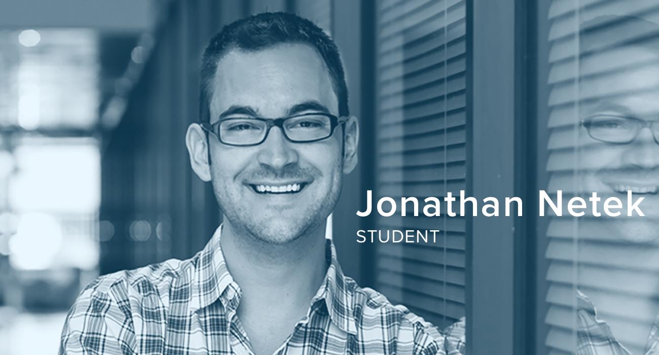 Jonathan Netek, Student