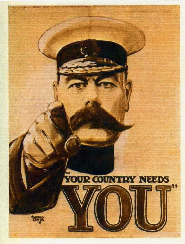 Your Country Needs You - Kitchener 1914