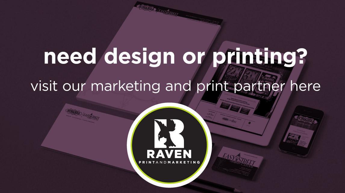 raven print and makreting