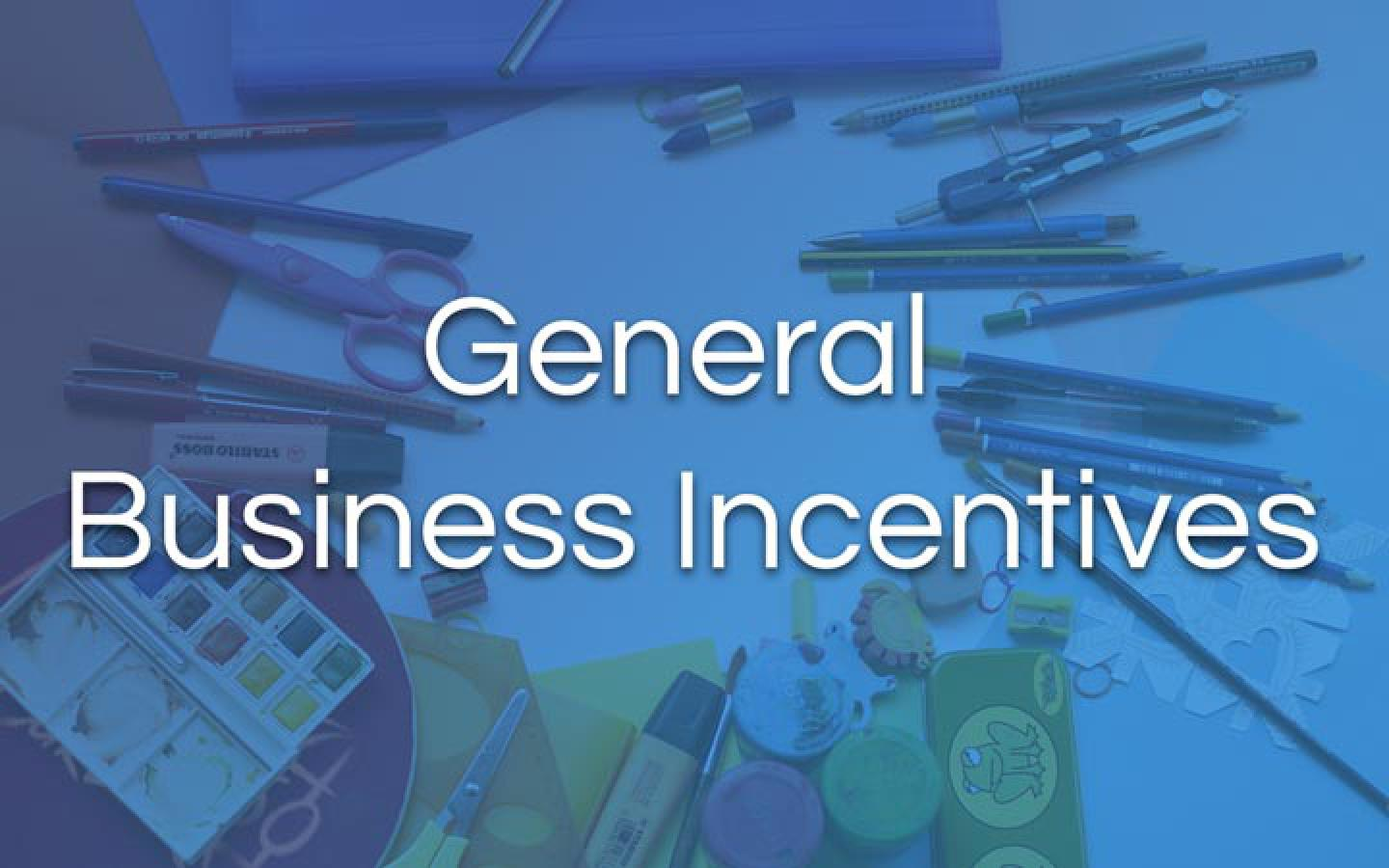 General Business Incentives