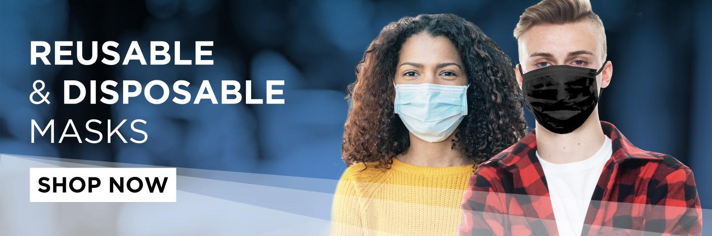 reusable and disposable masks