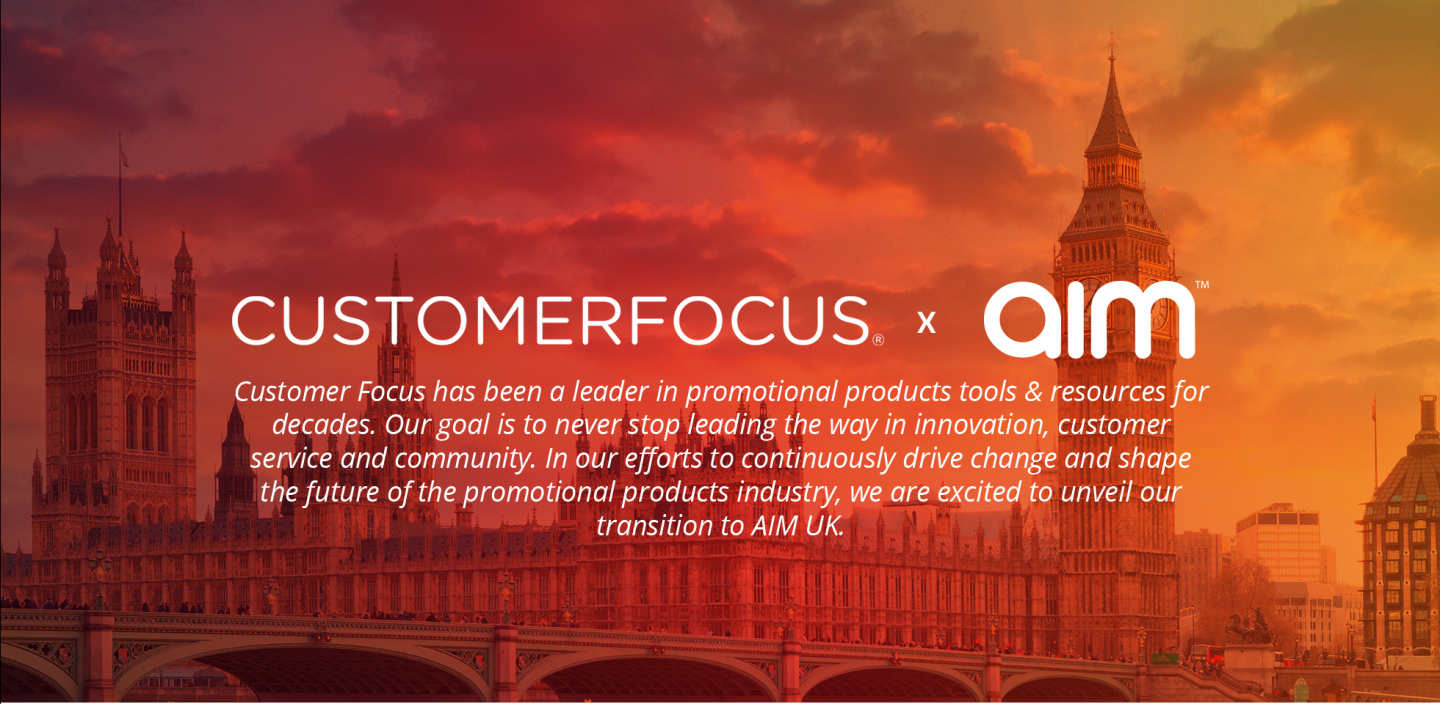 Customer Focus is now AIM