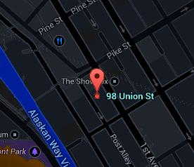 98 Union Map
